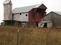 An Amish Barn