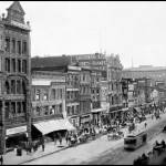 """Market Street viewing west from 2nd Street, c1905"" by worldwidearchive"