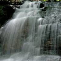 Spring waterfall Art Prints & Posters by Larry Wohlheter