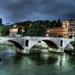 """Storm over Vatican Bridge"" by KathrynPostulka"