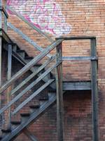 Back Alley Stairs