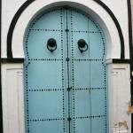 """Blue Door of Nabeul"" by DonnaCorless"