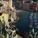 """Vernazza Towers"" by DonnaCorless"