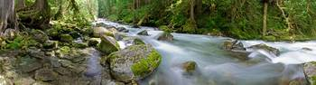 Newhalem Creek Panorama 3