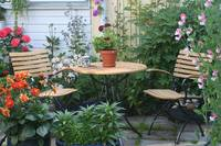Our Cafe corner in the garden - 3