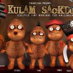 """Shai Kulam Sackdolls for Halloween!"" by shaidelacroix"