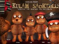 Shai Kulam Sackdolls for Halloween!