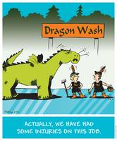 Dragon Wash Safety by Rodney Robbins