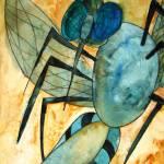 """Mosquito Deity"" by schulmanart"