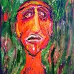 """fire face"" by metinpaint"