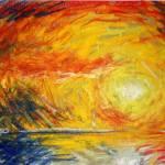 """Liquid Sunset"" by Thalassinos"