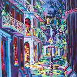 """Pirates Alley"" by neworleansartist"