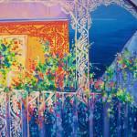 """Sun Lit Balcony"" by neworleansartist"