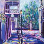 """St Ann at the Jackson Square"" by neworleansartist"