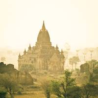 Temples on Bagan Plains, Burma