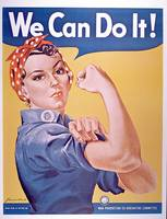 'We can do it!', World War Two poster, c.1942