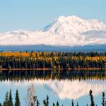 """Autumn View of Mt. Drum (Alaska)"" by whatawonderfulworld"