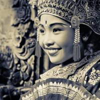 Balinese girl dancer