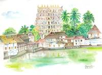 padmanabha swamy temple,kerala,india
