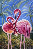 Love Flamingos