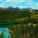 """Emerald Lake (Yukon)"" by whatawonderfulworld"