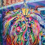 """Mardi Gras Lamp Post"" by neworleansartist"