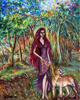 Goddesses of the spiritual forest - 1