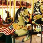 """Carousel Horses"" by PurpleSkyPhoto"