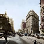 """Market and 2nd Street, San Francisco 1905"" by worldwidearchive"