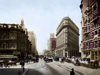 Market and 2nd Street, San Francisco 1905 by WorldWide Archive