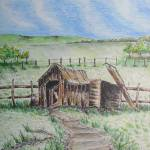 """COUNTRY SHED"" by InkmanTom"