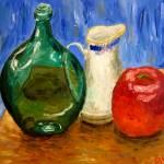 """""""Bottle Pitcher Apple"""" by dmannsart"""