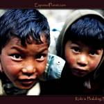 """Kids in Phakding, Nepal (2)"" by ExposedPlanet"