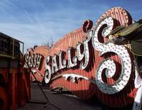 Neon Sign Sassy Salleys