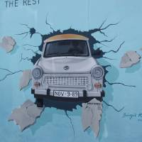 The Eastside Gallery 3 Art Prints & Posters by John Willens