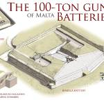 """100-Ton Gun batteries of Malta"" by MilitaryArchitecture"