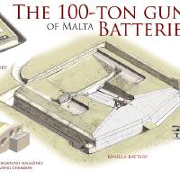 100-Ton Gun batteries of Malta Art Prints & Posters by Military Architecture