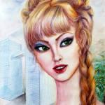 """""""Katherine - American"""" by ArtlbyYelena"""