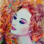 """""""Abigail - Canada"""" by ArtlbyYelena"""