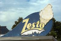 Neon Sign Zesto Ice Cream Sign