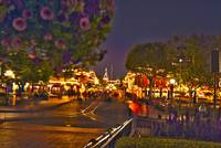 Disneyland - Main Street USA HDR