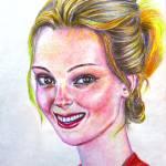 """Kristen - American"" by ArtlbyYelena"