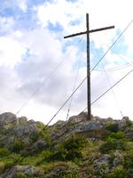 Cross on Mount Giouctas in Crete