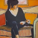 """""""Peeling an Orange"""" by Pamla"""