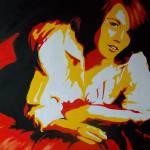 """Red Silk"" by Pamla"