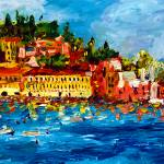 """Impressionist Sestri Levante Travel Italy"" by GinetteCallaway"