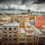 """Front Street, Hamilton, Bermuda"" by dennisherzog"