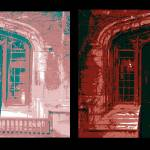"""Diptych C-Shop Doorway"" by LeonSarantosArtist"