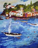 Sestri Levante Bay of Silence Italy Boats