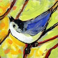 16 Birds, No 6 Painting/Acrylic Contemporary
